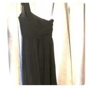 J.Crew silk chiffon Bridesmaid dress